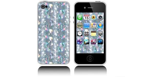 Kaleidoscope iPhone decals skin