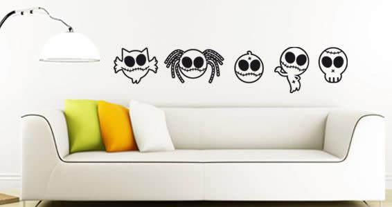 Little Zombies wall stick ups