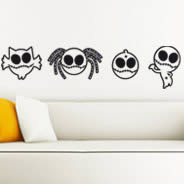Little Zombies wall stick ups