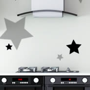 Stars decorative decals