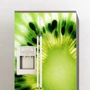 Kiwi Fruit decal Dry Erase Fridge Skins