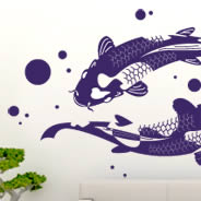 Koi Fish wall decals
