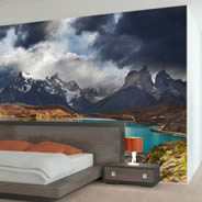 Moutain Lake Pehoe wall murals