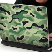 Classic Camo skins for laptops