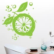 Lemon Zest vinyl wall decals