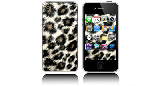 Leopard  iPhone decals skins