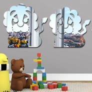 Lion Family Acrylic Mirrors