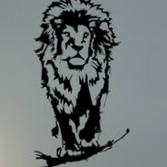 RooOOOAAAaaar! lion wall tattoos