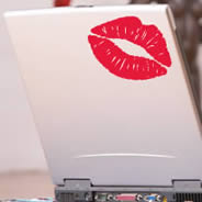 Kiss-Kiss laptop decals skin
