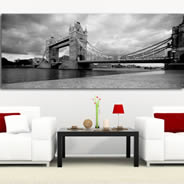 Tower Bridge contemporary artist canvas