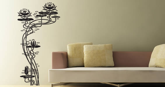 lotus wall decals | dezign with a z
