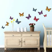 Beautiful Butterflies wall decals