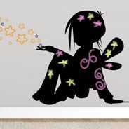 Magic Children blackboard and vinyl wall decals