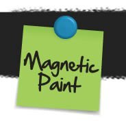 Black Magnetic Paint & Primer