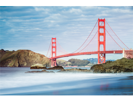 Magnificent Golden Gate Bridge on canvas