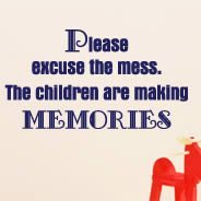 Making Memories quotes decal