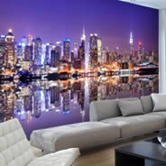 Manhattan Skylines wall murals