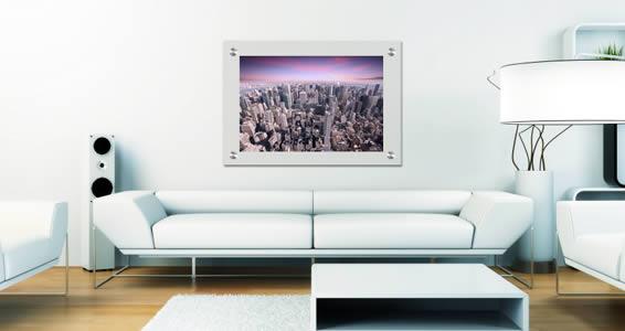 Manhattan Sunset Plexiglass Stand Off