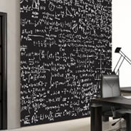 Math Scribbles wall mural