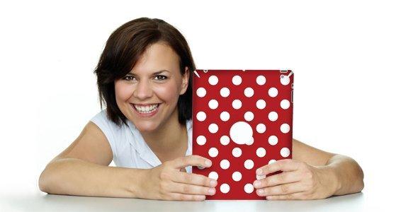 Mega Dots iPad decals skin