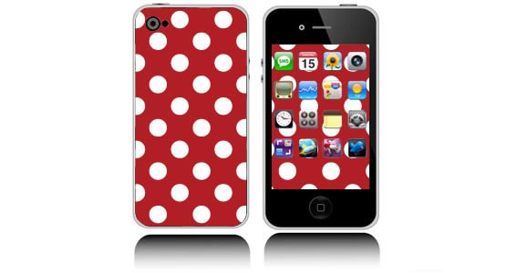 Mega Dots  iPhone decals skins