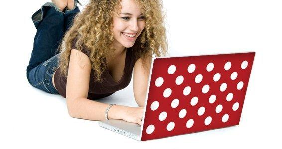 Mega Dots skins for laptops