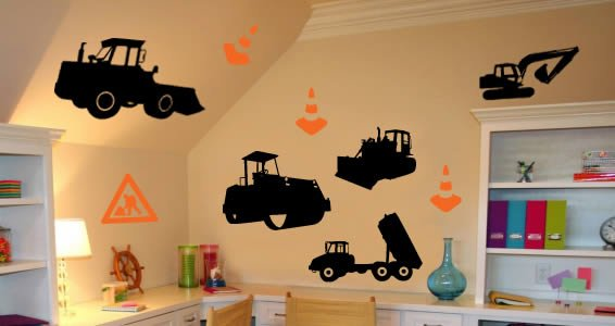 Men At Work Wall Decals Part 81