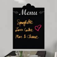 Menu chalkboard wall decal