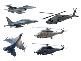 Military Aircrafts pack decals