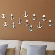 Anchors acrylic mirrors