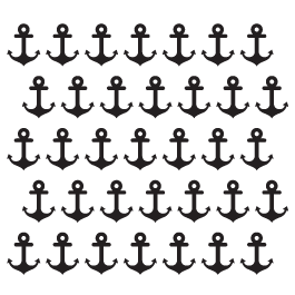Mini Wall Decals Anchor Packs