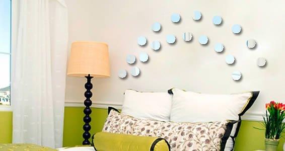 Acrylic Mirrors Mini Dots
