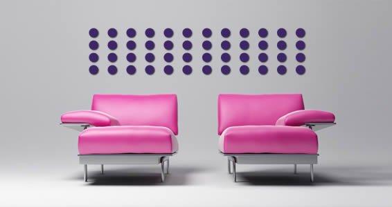 Mini Dots wall appliques