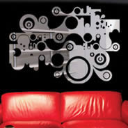 Graphic Wall Acrylic Mirrors