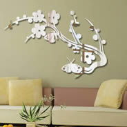 Butterfly Branch acrylic mirrors