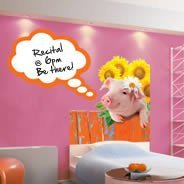 Miss Piggy - Dry-erase wall stickers