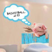 Mister Piggy - Dry-erase wall decals