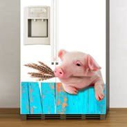 Mister Piggy Dry erase sticker Fridge Skins