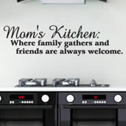 Moms Kitchen quote decal