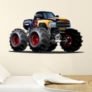 Monster Pickup Truck decal