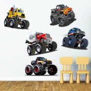Monster Truck pack decals
