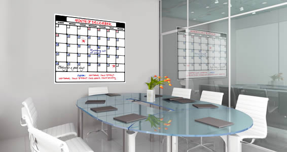 Dry Erase Calendar Wall Decals Dezign With A Z