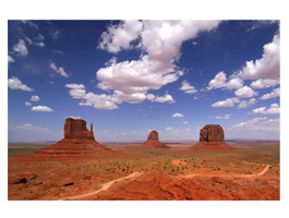 Monument Valley digital photo canvas