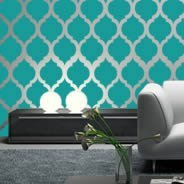 Moroccan modern wall decals