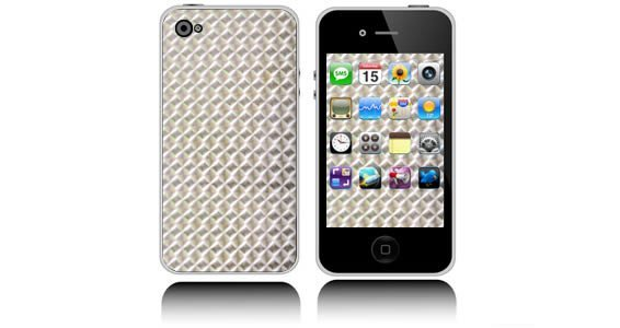 Silver Mozaic iPhones skins