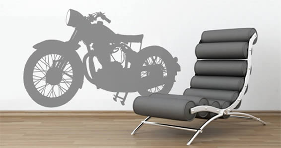 My Motorcycle wall decal