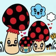 Family Mushroom wall art for nurseries