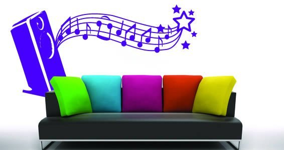 Melody home wall vinyl
