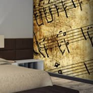 Music Notes Dry Erase Furniture Decal Skin