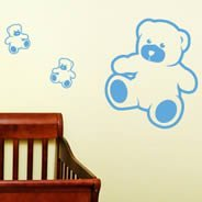 My Bears wall decals